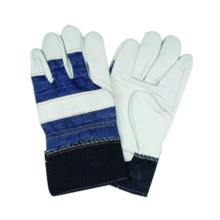 Cow Split Leather Work Glove, Safety Glove, CE Glove