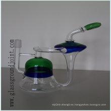 Precio competitivo del Borosilicate fumar pipa de agua narguile con junta esmerilada