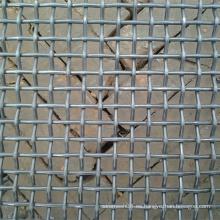 Panel de Malla de Alambre Crimpado Galvanizado