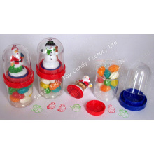 Santa & Snowman Stamp with Candy (110819)