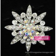 personality rhinestone alloy flower brooch