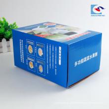 Amostra grátis personalizado pequena máquina de papelão ondulado caixa
