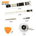 JAKEMY JM-8142 29 IN 1 Household DIY repair tool screwdriver set aerospace aluminum screwdriver set