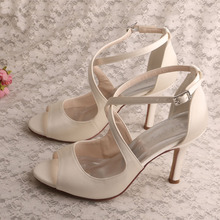 Wedding+Off+White+Bridesmaid+Shoes+Sandals