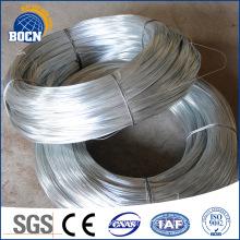 Electro galvanized binding wire