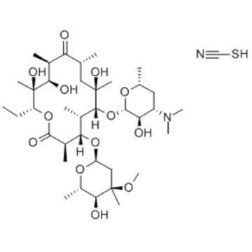 Erythromycin thiocyanate CAS 7704-67-8
