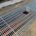 Tugas Berat Galvanized Steel Trench Grating
