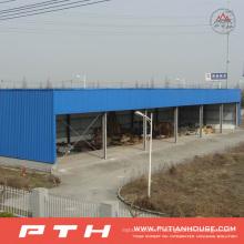 Entrepôt préfabriqué adapté aux besoins du client de la structure métallique 2015 de conception