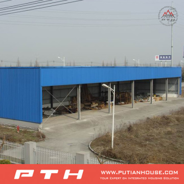 Prefabricated Customized Steel Structure Warehouse From Pth