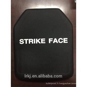 Plaque de protection anti-balles en céramique multi-courbes NIJ IV SIC