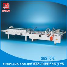 Bonjee New Design 2.2KW Automatic Folding Chips Carton Box Gluing Machine