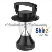 Smaller black hand crank Energy saving solar led tent camping light