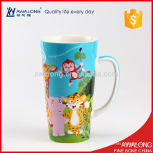 Bulk Capacity Ceramic Mug Animal Custom Designed With A Cheap Price