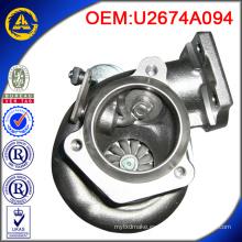 U2674A094 GT2052 727264-5001S cargador turbo