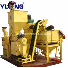 Animal poultry pellet feed mill line