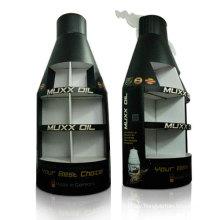 Bottle-Shape Cardboard Pallet Display, Corrugated Floor Display for Oil