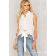 Модная шифоновая рубашка женщин Top