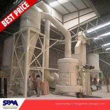 Malaisie utilisé la poudre de fer faisant la machine pour le marbre, le talc