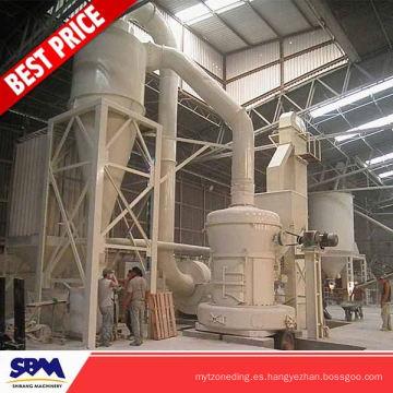 Malasia usó la máquina de fabricación de polvo de hierro para mármol, talco