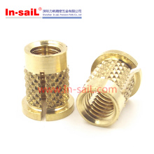 Press-in Threaded Brass Inserts for Plastic