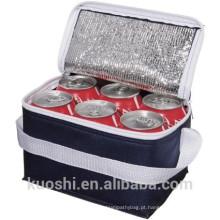 saco do refrigerador da garrafa de cerveja da folha de alumínio