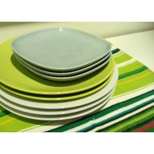 Alta qualidade barato osso china porcelana prato de jantar 10 polegadas