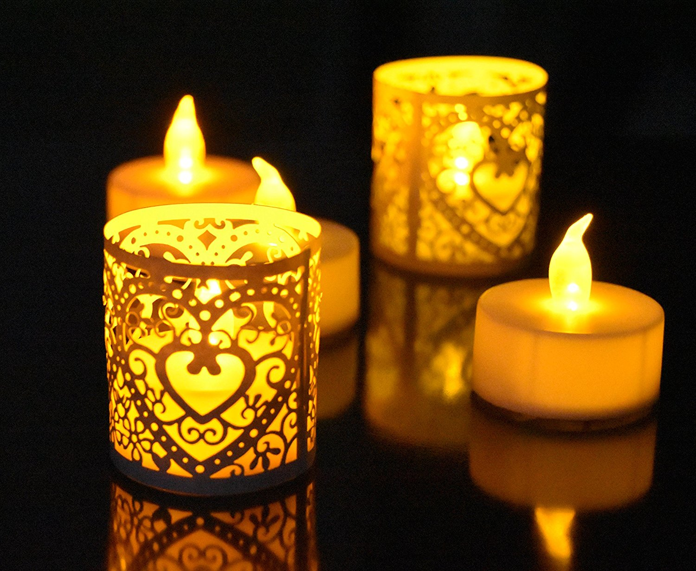 LED tealight candle (10)