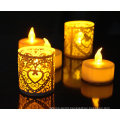 Christmas candle LED light tealight candle