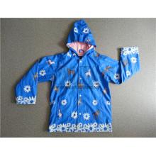Hochwertige PU-Beschichtung Kinder Regenjacke