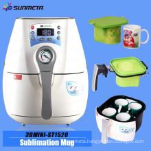 Sunmeta factory directly mini 3D sublimation machine for mugs, phone case sublimation machine ST-1520