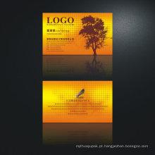 Impressão personalizada do cartão de nome 3D de cartão de visita de 4 cores