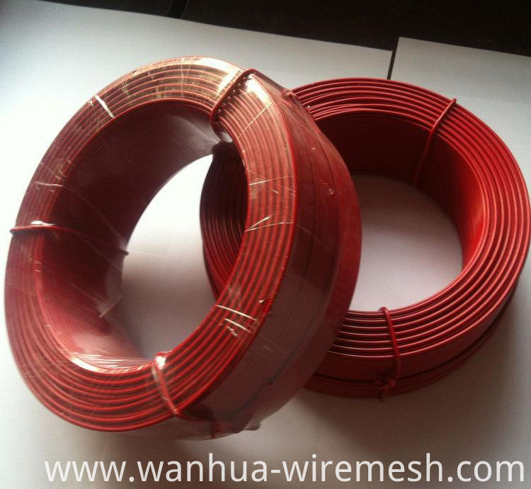 0.9mm PVC insulated Coated GI Wire (2)