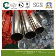 Tubulação soldada de aço inoxidável ASTM A312 Tp316L TP304L