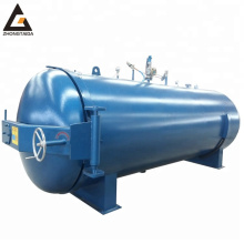 carbon steel diameter electric heating horizontal steam direct heating rubber autoclave vulcanization