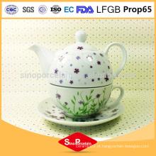 AB Grade FDA e padrões CA65 chaleira chinesa cerâmica, conjunto de chá de cerâmica