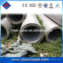 China exporta 100 mm de diámetro de tubería de acero inoxidable