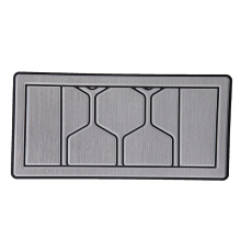 High quality cheap price custom yacht grey stripe traction sheet boat flooring EVA carpet boat floor mat