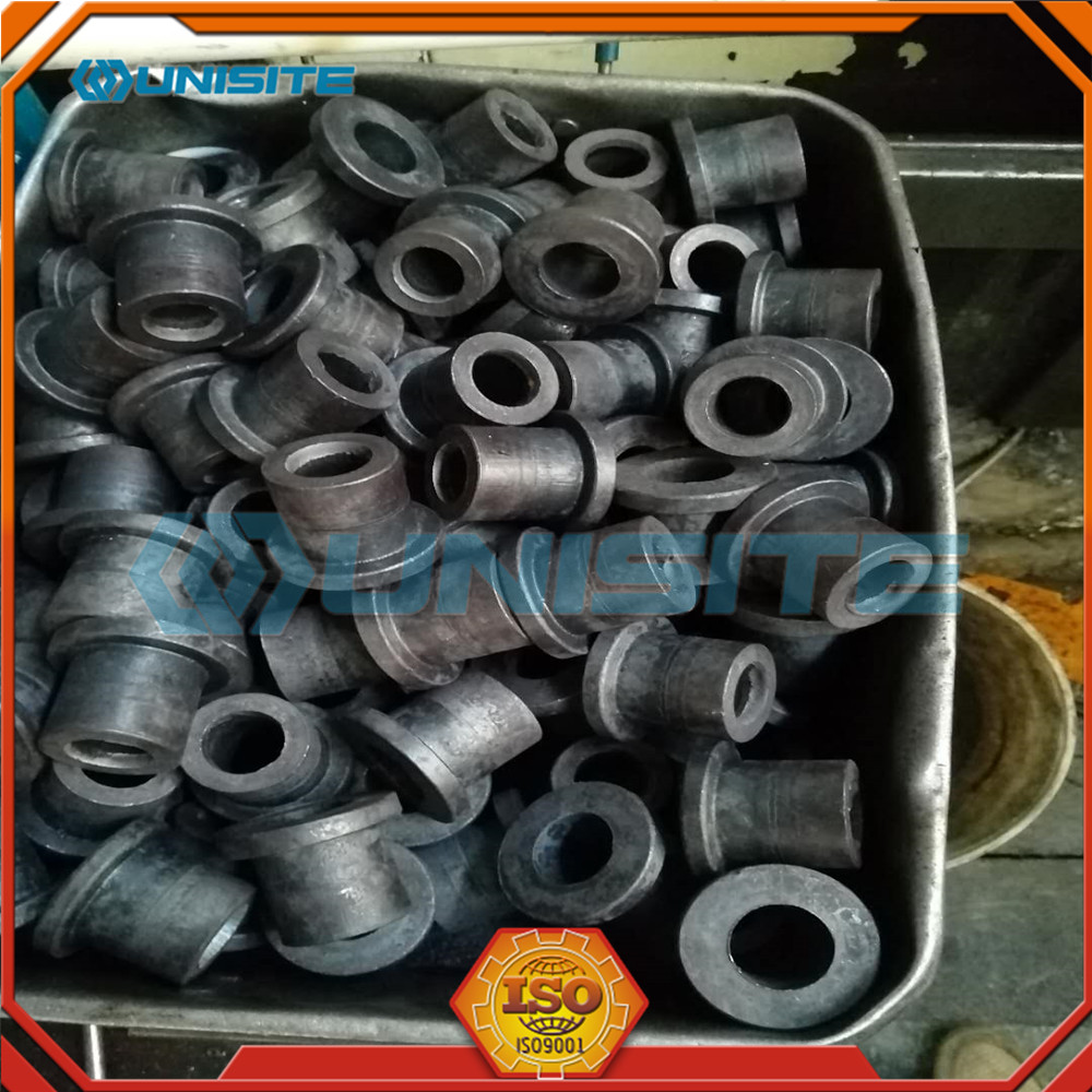 Forging And Machining Flanged Bushing