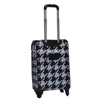 Upright  Expand Soft Luggage with 4 Wheels
