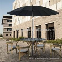 Uplion Steel sun garden foldable morden umbrella