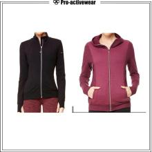 Servicio Outdoor Mujer con capucha de invierno Softshell chaqueta reflectante