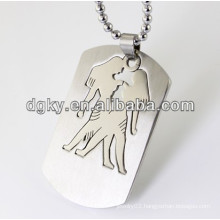 Twelve Constellations Stainless Steel Gemini Pendant