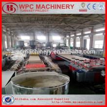 Bois + composition en plastique PVC WPC ligne de production de panneaux de moulage / machine de tableau de mousse WPC