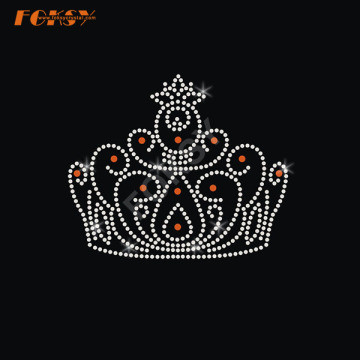 Crown Iron on Rhinestone Motif