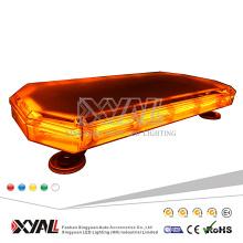 Heißer Verkauf 140W COB 23,6 Zoll Hochleistungs-LKW benutzte 12V / 24V bernsteinfarbene LED-Sicherheit, die blinkende Lightbar fährt