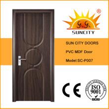 Puertas de cocina de oscilación interior de MDF