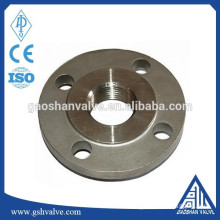 ansi standard carbon steel raised face threaded flange