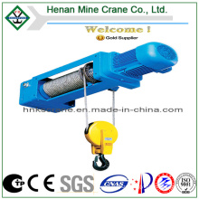CE GOST Certificated Electrical Rope Pulling Hoist with Control Push Button (HC Model)