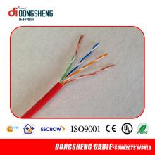 UTP Cat5e CAT6 LAN Cable Aplicação para Comunicação de Rede