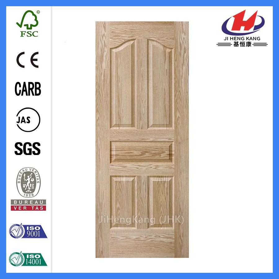 JHK-005 Red Oak Veneer Dining Room Door Skin